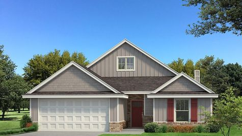 Homes by Taber Kamber A Siding Elevation - Light Grey