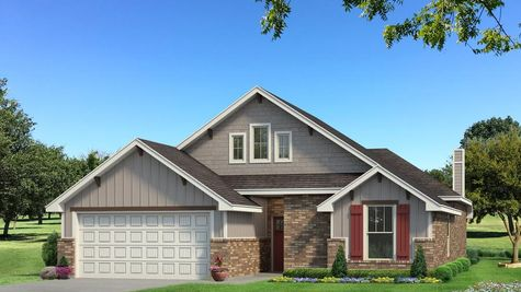 Homes by Taber Teagen A2 Elevation - Light Grey
