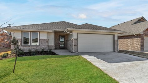 Homes by Taber Drake B Elevation- 9132 NW 119th St