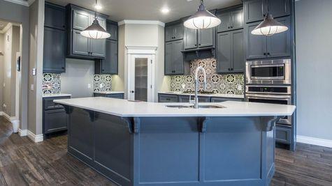 Homes by Taber Example of Shiloh Half Bath Floorplan