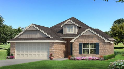 Homes by Taber Example of Hunter Floorplan