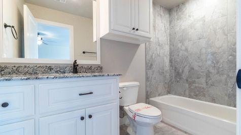 Homes by Taber Shiloh Bonus Room Half Bath Floor Plan-3116 Hunter Crest Dr