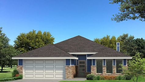 Homes by Taber Kamber B Elevation Floor Plan - Royal Blue