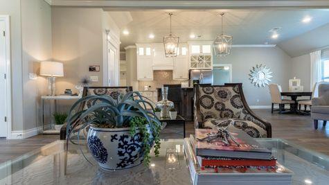 Homes by Taber Cornerstone Bonus Rooms 5 Bedroom Floor Plan - Ponderosa Model Home