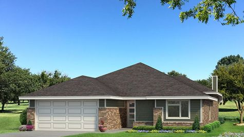 Homes by Taber Teagen B Elevation - Green