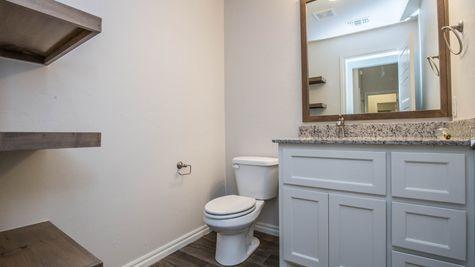 Homes by Taber Hazel Half Bath Floorplan - 2832 Alder Rd