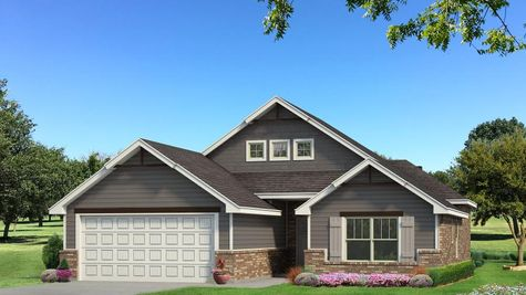 Homes by Taber Hunter A2 Elevation - Shades of Grey