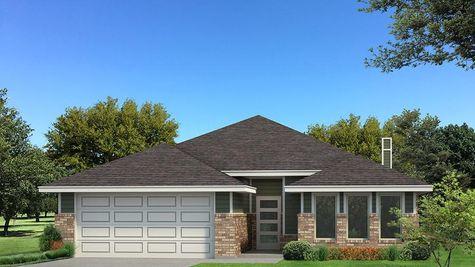 Homes by Taber Kamber B Elevation Floor Plan - Green