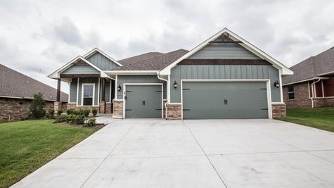 Homes by Taber Example of Mallory Floorplan