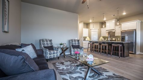 Homes by Taber Julie Floor Plan - Ironstone Model Home