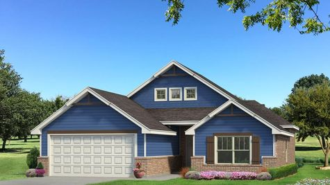 Homes by Taber Hunter A2 Elevation - Royal Blue