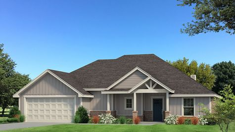Homes By Taber Ryker Floor Plan- Front Load