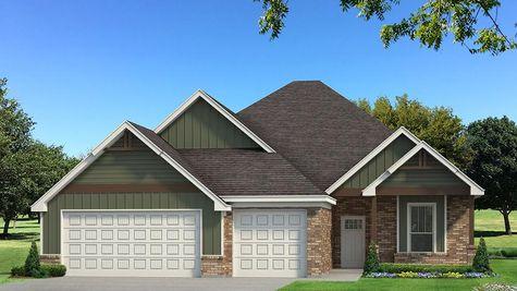 Homes by Taber Mallory Bonus Room Brick Elevation