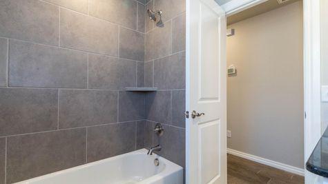 Homes by Taber Blue Spruce Half Bath Floor Plan