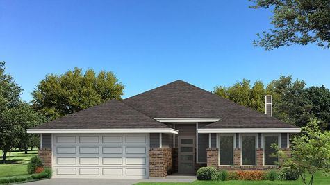 Homes by Taber Kamber B Elevation Floor Plan -Shades of Grey