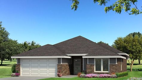 Homes by Taber Drake B Elevation - Green