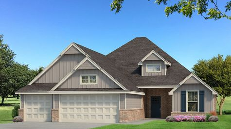 Homes by Taber Example of Hummingbird Bonus Room 2 Floorplan with Siding