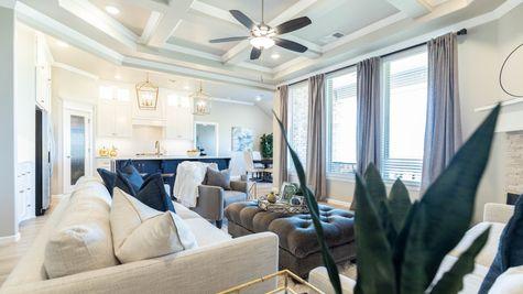 Homes by Taber Hazel Bonus Room Floor Plan - Stoneridge Farms Model Home