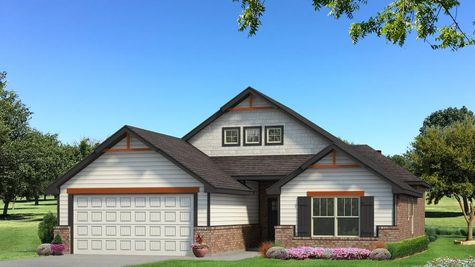 Homes by Taber Hunter A2 Elevation - Black and White