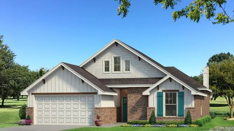 Homes by Taber Teagen A2 Elevation - Pop of Color