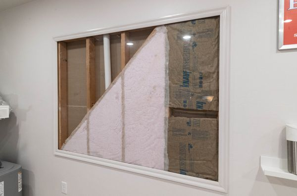 Blown in R-15 Wall Insulation