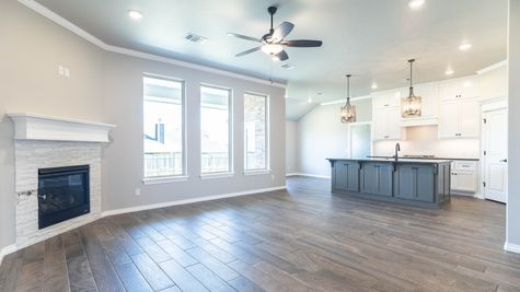 Homes by Taber Hazel Floorplan - 10109 NW 141st Circle