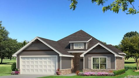 Homes by Taber Julie A Siding Elevation - Shades of Grey