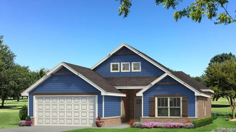 Homes by Taber Julie A2 Elevation - Royal Blue