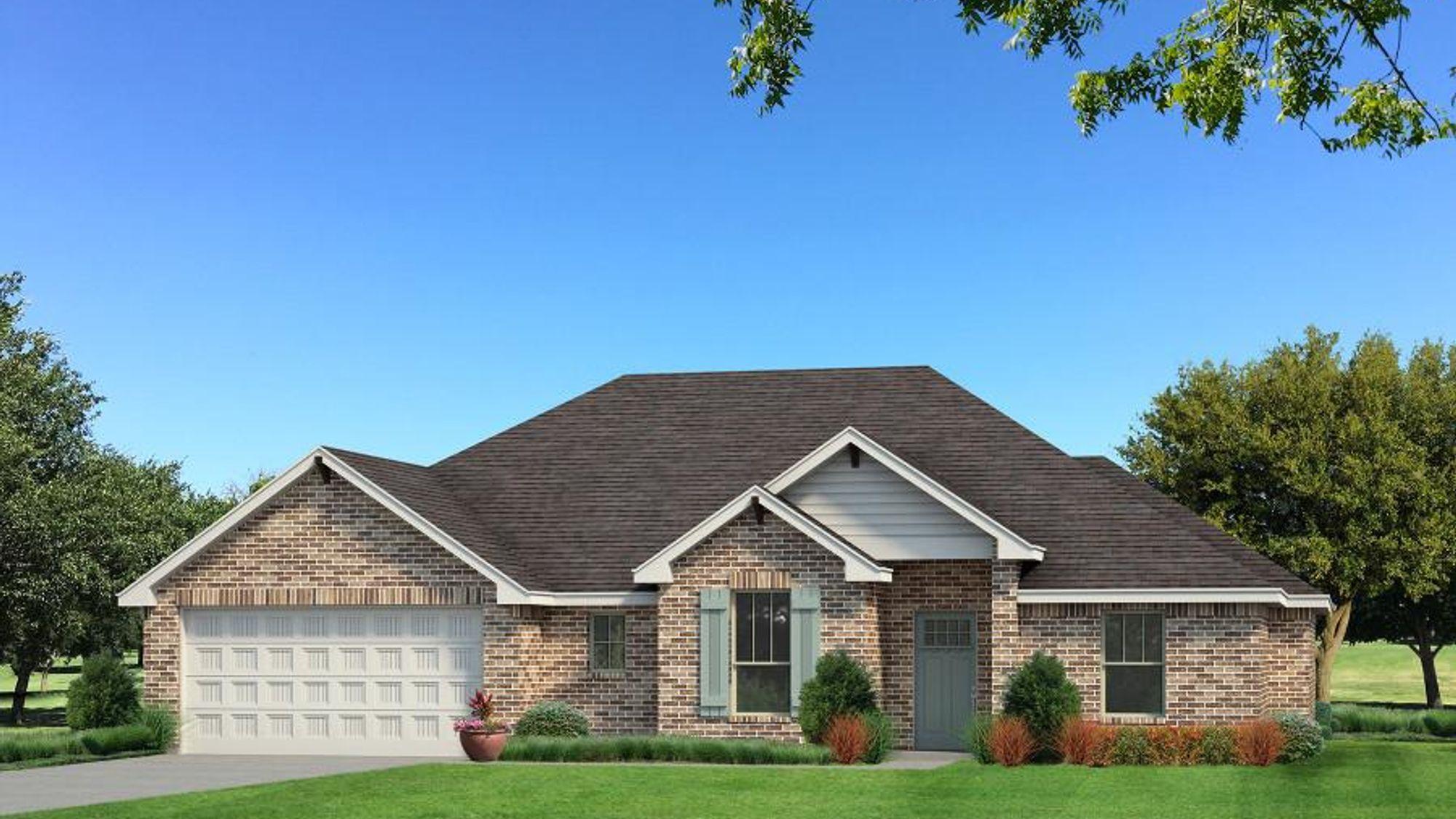 Homes by Taber Kristine - Brick Elevation