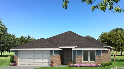 Homes by Taber Drake Floor Plan B Elevation