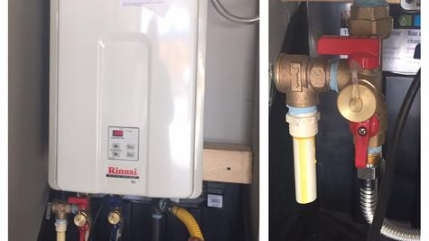 Rinnai Tankless Water Heater included in all Homes by Taber homes