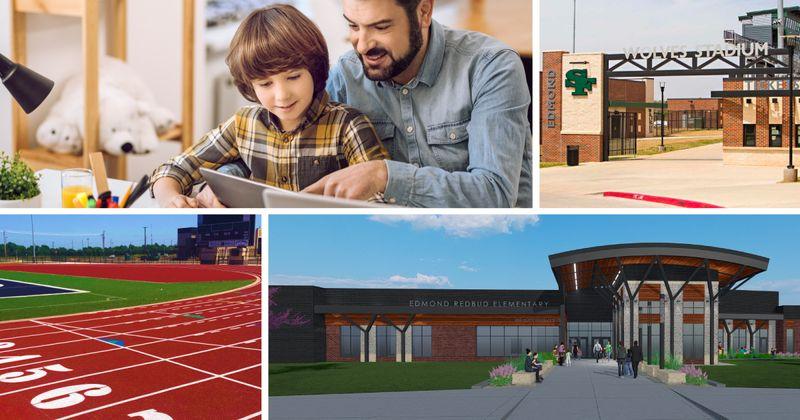 Montage of Edmond schools images