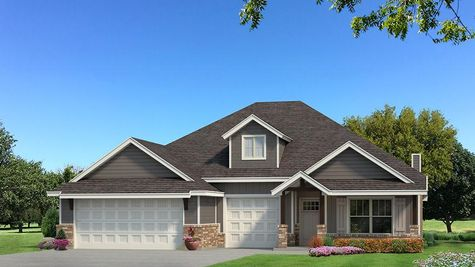 Homes by Taber Shiloh Siding Elevation - Shades of Grey