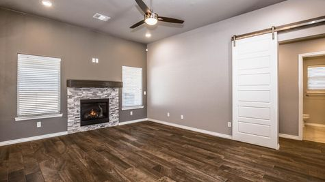 Homes by Taber Example of Deacon Floorplan