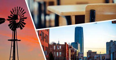 Photo montage of landmarks in Piedmont, Oklahoma