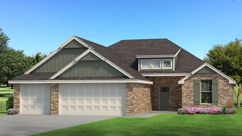 Homes by Taber Example of Hummingbird Floorplan