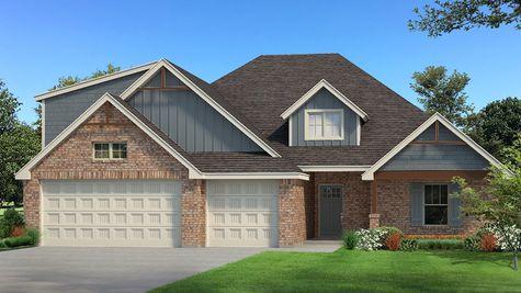 Homes by Taber Example of Blue Spruce Bonus Room 1 PLUS Floorplan