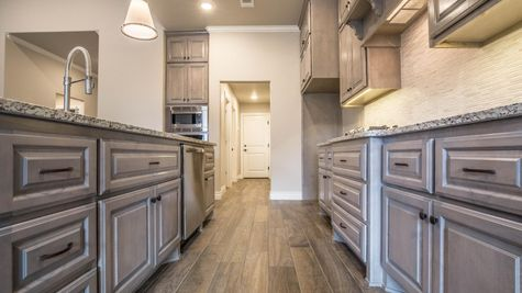 Homes by Taber Example of Blue Spruce Bonus Room 1 Floorplan