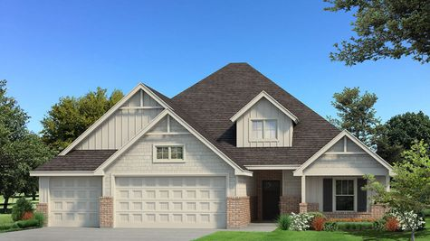Homes by Taber Example of Blue Spruce Bonus Room 2 Floorplan with Siding
