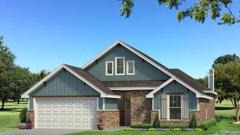 Homes by Taber Teagen A2 Elevation - Aqua