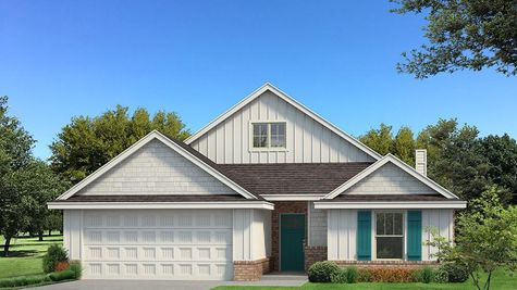 Homes by Taber Kamber A Siding Elevation - Pop of Color