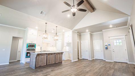 Homes by Taber Hummingbird Half Bath Floor Plan-805 Cassandra
