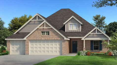 Homes by Taber Example of Blue Spruce Bonus Room 2 Floorplan