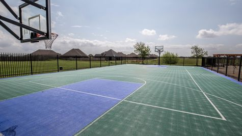 Basketball Court in The Grove Neighborhood