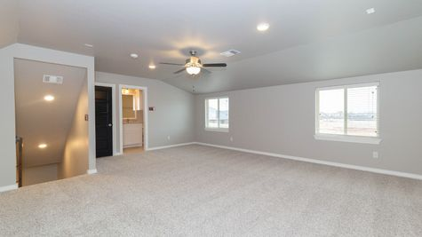 Homes by Taber Blue Spruce Bonus Room 1 Floor Plan - Cedar Lane Model Home