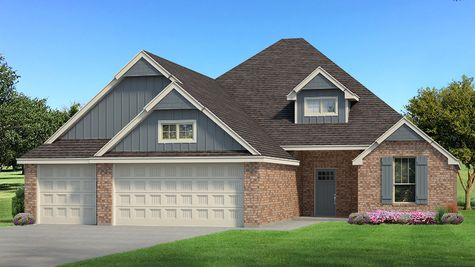 Homes by Taber Example of Hummingbird Bonus Room 2 Floorplan