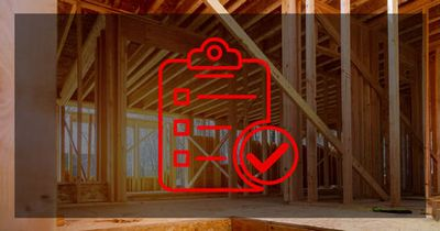 Checklist for building a house icon