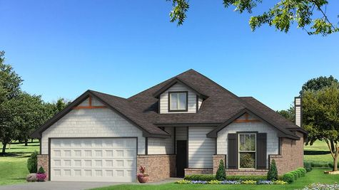 Homes by Taber Teagen Siding Elevation - Black and White