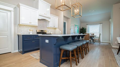 Homes by Taber Kamber Floor Plan - Park Place Model Home
