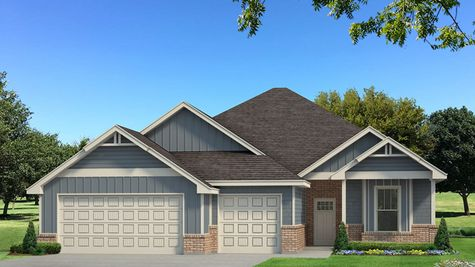 Homes by Taber Example of Mallory Floorplan with Siding